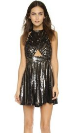 Free People Sequin Stripe Mini Dress at Shopbop