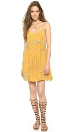 Free People So Nice Chiffon Dress at Shopbop