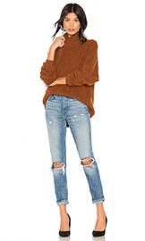 Free People Softly Structured Tunic in Terracotta from Revolve com at Revolve