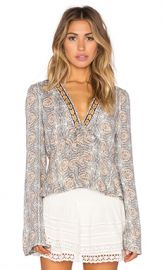 Free People Time of Your Life Top in Ivory Combo from Revolve com at Revolve