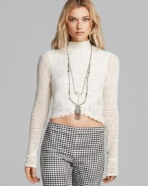 Free People Top - Antoinette Turtleneck at Bloomingdales