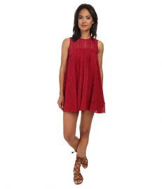 Free People Tu Es La Mini Red Combo at Zappos