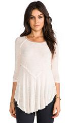 Free People Weekends Layering Top in Tea  REVOLVE at Revolve
