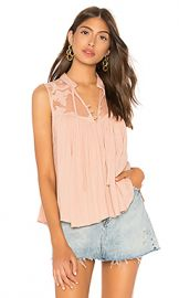 Free People Western Romance Top in Pink from Revolve com at Revolve