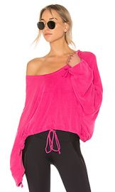 Free People Yella Hoodie in Pink from Revolve com at Revolve