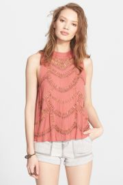 Free People and039Ferris Wheeland039 Sleeveless Top at Nordstrom Rack