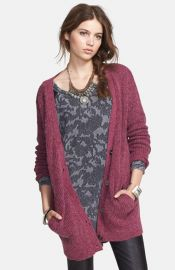 Free People and39Cloudy Dayand39 Long Cardigan at Nordstrom