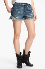 Free People and39Dolphinand39 Vintage Denim Cutoff Shorts at Nordstrom