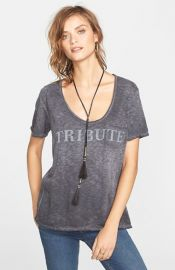 Free People and39Itand39s Trickyand39 Short Sleeve Pocket Tee at Nordstrom