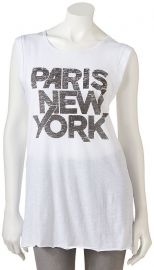 Freeze Juniors Paris New York Tee at Kohls