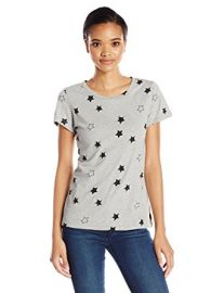 French Connection Women\'s Embellished Star Tee at Amazon