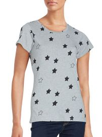 French Connection Women's Star Print Cotton Tee at French Connection