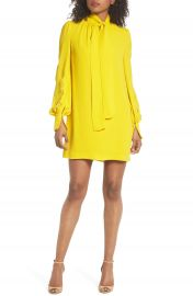 French Connection Amrita Crepe Shift Dress at Nordstrom