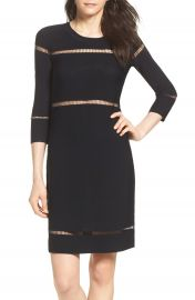 French Connection Danni Ladder Knit Dress at Nordstrom