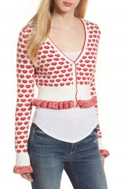 French Connection Kiss Crop Cardigan at Nordstrom