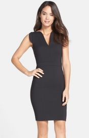 French Connection Lolo Stretch Sheath Dress at Nordstrom