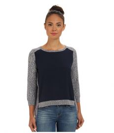 French Connection Odette Knits 78CAZ Blue Melange at 6pm