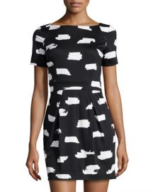 French Connection Print Dress at Last Call