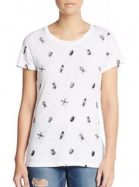 French Connection Sonny Bug Print Tee at Saks Off 5th