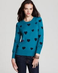 French Connection Sweater - Hearts at Bloomingdales