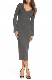 French Connection Virgie Knits Midi Dress at Nordstrom