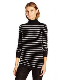 French Connection Women s Bambi Stripe Turtleneck at Amazon