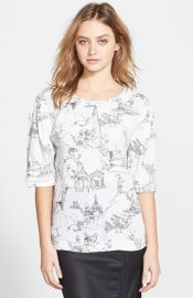 French Connection and39Anastasiaand39 Print Top at Nordstrom