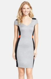 French Connection and39Manhattanand39 Colorblock Sheath Dress at Nordstrom