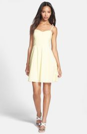 French Connection and39Monaco Breezeand39 Cotton Fit andamp Flare Dress at Nordstrom