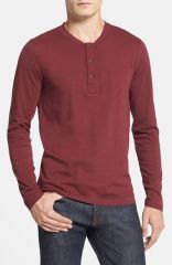 French Connection and39Shooterand39 Slim Fit Long Sleeve Henley at Nordstrom