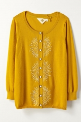 French Knot Cardigan at Anthropologie