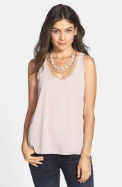Frenchiand Woven Swing Tank in Rose Water at Nordstrom