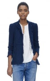 Fringe Tweed Jacket at Rebecca Taylor