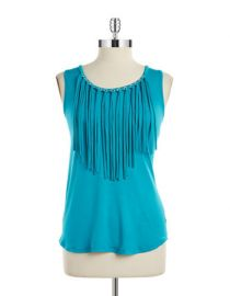 Fringe top by MICHAEL Michael Kors at Lord & Taylor