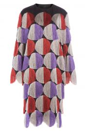 Fringed Coat at Stylebop