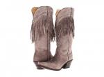 Fringed boots by Tony Lama at Zappos