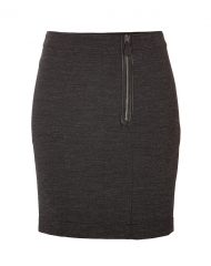 Front zip skirt by Burberry at Stylebop