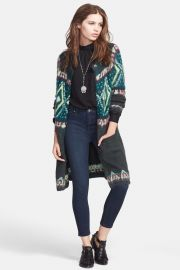 Frosted Fair Isle Cardigan by Free People at Nordstrom Rack