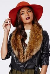 Fur Collar at Miss Guided