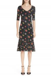 Fuzzi Floral Tulle Dress at Nordstrom