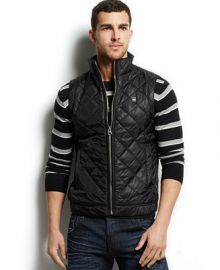 G-Star RAW Meefic Quilted Vest at Macys