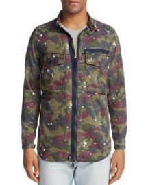 G-Star RAW Type C Zip-Front Shirt Jacket at Bloomingdales