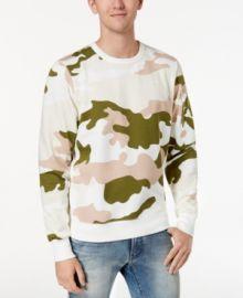 G Star RAw Camouflage Sweatshirt at Macys