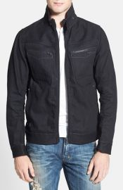 G-Star Raw and39NW Arcand39 Zip Raw Denim Jacket at Nordstrom