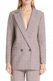 GANNI Suiting Blazer at Nordstrom