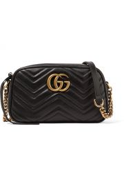 GG Marmont Camera small quilted leather shoulder bag at Net A Porter
