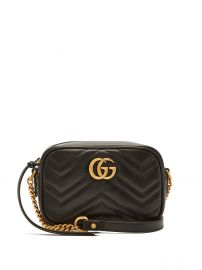 GG Marmont mini quilted-leather cross-body bag at Matches