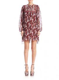 GIAMBA - Floral Blouson Dress at Saks Fifth Avenue