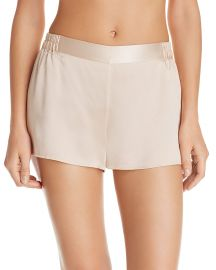 GINIA Silk Boxer Shorts at Bloomingdales