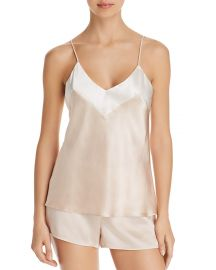 GINIA Silk Cami  at Bloomingdales